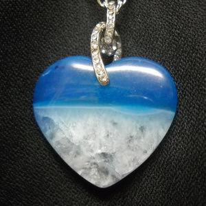 Jewelry - Stone Pendant, necklace